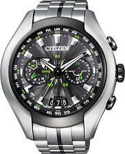 Citizen Mens Promaster Satellite Wave Air Titanium watch. CC1054-56E, CC1055-53E