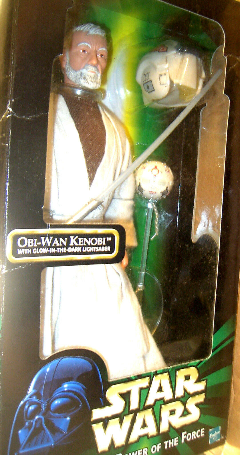 Star Wars Power Of The The The Force Obi-Wan Kenobi with Glow Lightsaber 12  Figure cfe609