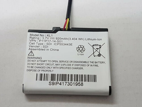 Batería de reemplazo TomTom Via 135 Modelo No KL1