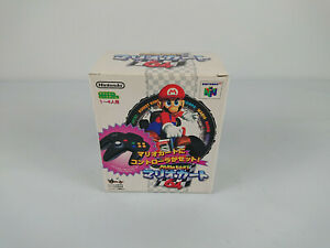MARIO-KART-64-Controller-PACK-Nintendo-64-Japon-N64-import-collector