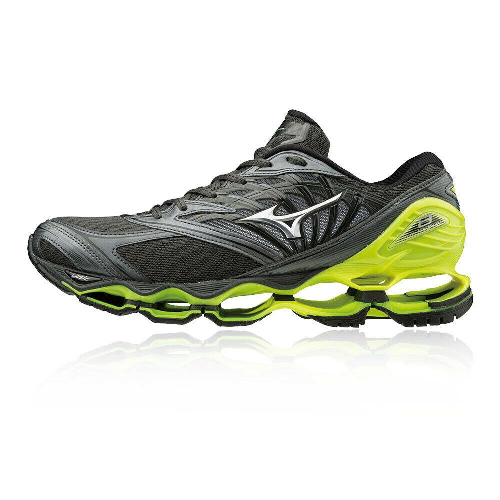 Mizuno Hombre Wave Prophecy 8 Correr Zapatos Zapatillas gris Deporte