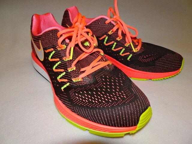NEW men NIKE ZOOM VOMERO 10 M  HOT LAVA WHITE BLACK VOLT running shoes sneakers