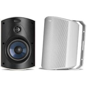 Polk-Audio-Atrium-5-Outdoor-Speaker-60Hz-25kHz-Pair-White-Brand-New