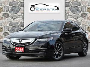 2016 Acura TLX TECH PKG V6 | SH-AWD | NAV | BLINDSPOT | HEATED 4 SEATS |