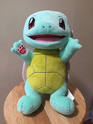 Build A Bear Pokemon Squirtle Turtle Unstuffed B-A-B