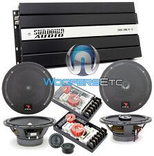 "pkg3 FOCAL 165A1 6.5"" COMP + 165CA1 COAXIAL SPEAKERS + SAX100.4V2 4-CH AMPLIFIER"