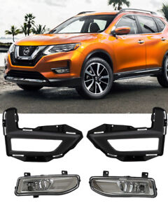 Details about For 2017 2018 NISSAN ROGUE Fog Light Driving Lamp Kit on nissan titan fuse box diagram, nissan sentra radio wiring diagram, nissan titan headlight harness diagram,