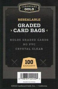 500-5-Packs-Ultra-CBG-RESEALABLE-GRADED-CARD-BAGS-GB