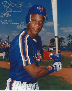 New-York-Mets-Darryl-Strawberry-autographed-8x10-photo-1986-WS-Champs-added