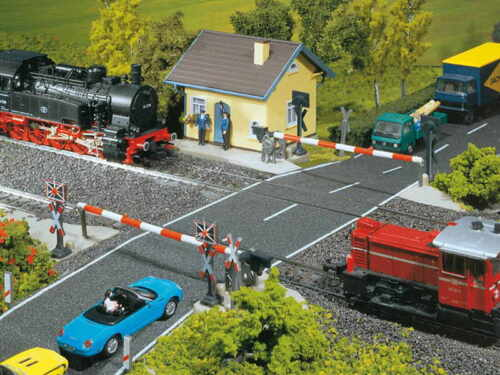 Faller h0 120171 beschrankter ferroviario de transición nuevo//en el embalaje original