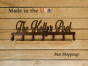 Details About Pool Towel Hanger Rack Sign Wall Mounted Hook Cr1023