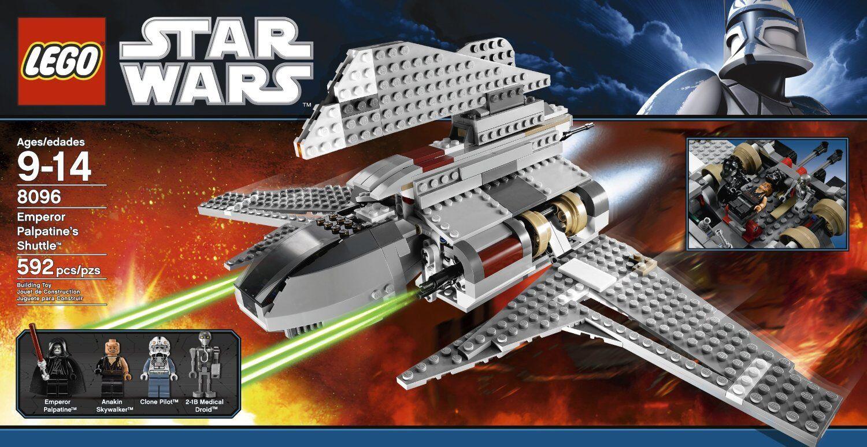 El nuevo Lego Estrella Wars 8096, el transbordador del emperador Palpatine W   3, un personaje único.