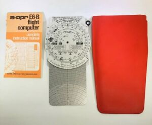 Vtg Aero Products Research Inc E6 B9 Flight Computer Case Manual Preowned Ebay