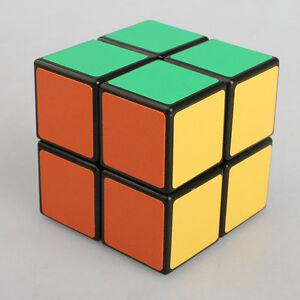 Magic-Cube-2x2x2-PVC-Black-Super-Smooth-Speed-Rubik-039-s-Cube-2-Layers-2x2