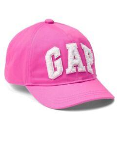 15e8c7ffc Details about Gap Baby Girl / Toddler Logo Eyelet Baseball Hat Cap Pink  Size M /L Medium Large