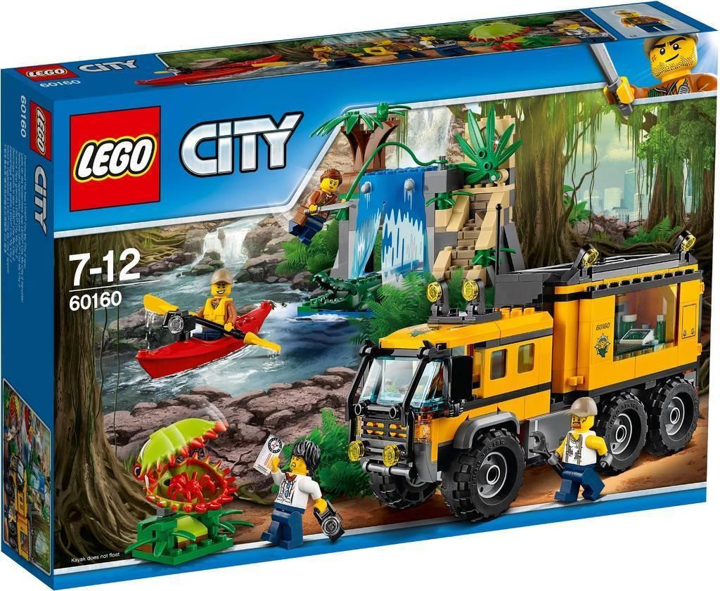 Le père Noël est avec vous tous tous tous les jours. LEGO - 60160 - LE LABORATOIRE MOBILE DE LA JUNGLE f3ac67