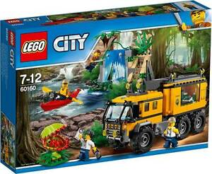 LEGO - 60160 - LE LABORATOIRE MOBILE DE LA JUNGLE