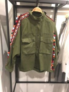 BNWT-RRP-139-ZARA-Parka-with-Trimming-and-Tassels-Green-Size-S-M-L-XL-7901-013