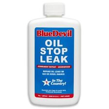 Blue Devil Oil Stop Leak Permanent Repair for Gas / Diesel Engines. 8 oz. 49499