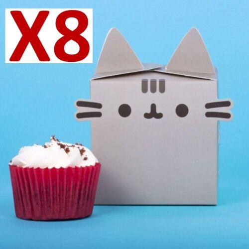 10 Blanco sola Cupcake Muffin Pastel Cajas De Hadas,, BathBombs Jabones Dulces 1 Pastel