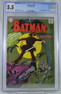Batman-189-CGC-5-5-1st-Appearance-of-Scarecrow-Key-Issue
