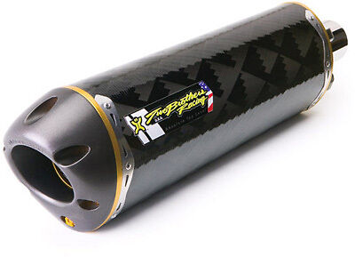 Two Brothers 2006-2013 Yamaha YZF R6 YZFR6 Carbon Fiber Slip-On Exhaust