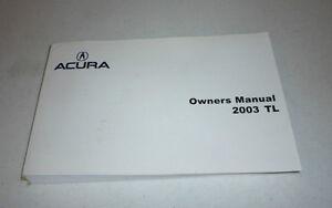 2003 acura tl owners manual 03 guide ebay rh ebay com 2000 acura tl owners manual pdf 2003 acura tl service manual pdf