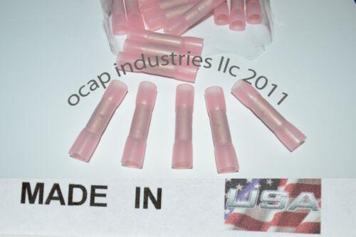 10 3M HEAT SHRINK BUTT WIRE CRIMP TERMINAL MARINE GRADE Made in USA 8 GA