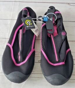 fac5ac67cc9 Image is loading Womens-Lucille-Water-Shoes-Champion-Black-XL-11-