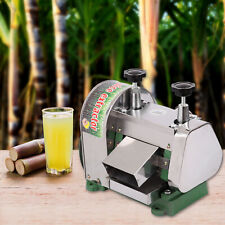 Manual Sugar Cane Press Juicer Juice Machine Commercial Extractor Mill 50kgh