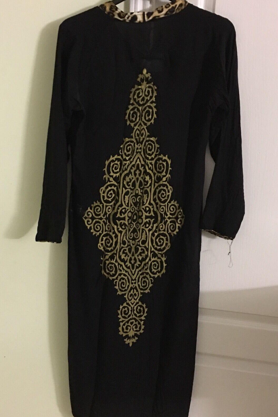 Malai Lawn Embossed Black Formal Pakistani IDesigner Beautiful Kurti