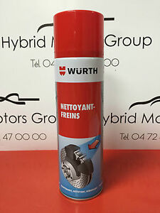 WURTH-Nettoyant-Actif-Degraissant-Freins-500ML-Ultra-Puissant