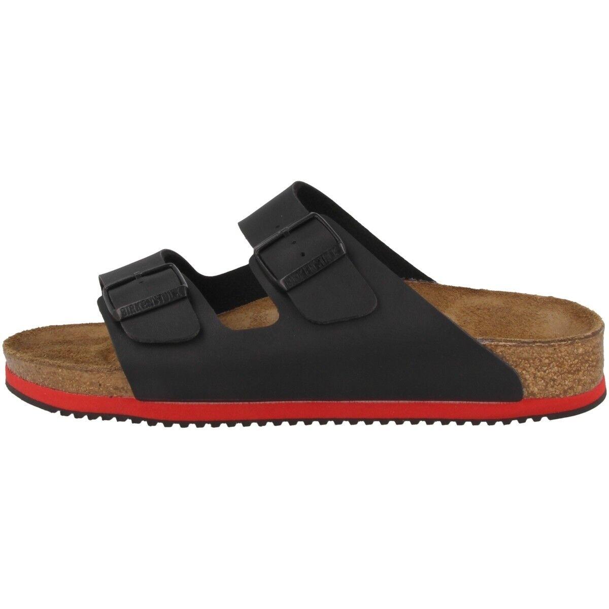 Birkenstock Arizona SL Birko-Flor Sandalen Schuhe Clog black 230116 Weite schmal