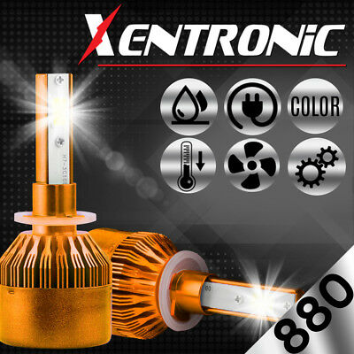 XENTRONIC LED HID Headlight kit H7 White for Mercedes-Benz GL350 2010-2016