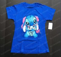 Disney Store Tee For Women Stitch And Scrump Tshirt Choose Size