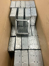 Lot Of 34 G Box G 2014 Square Extension Ring Outlet Boxes4l X 4w X 1 12d