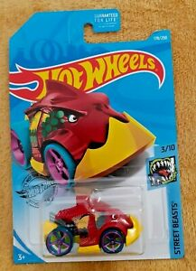 Mattel-Hot-Wheels-Pirana-Terror-Nuevo-Sellado