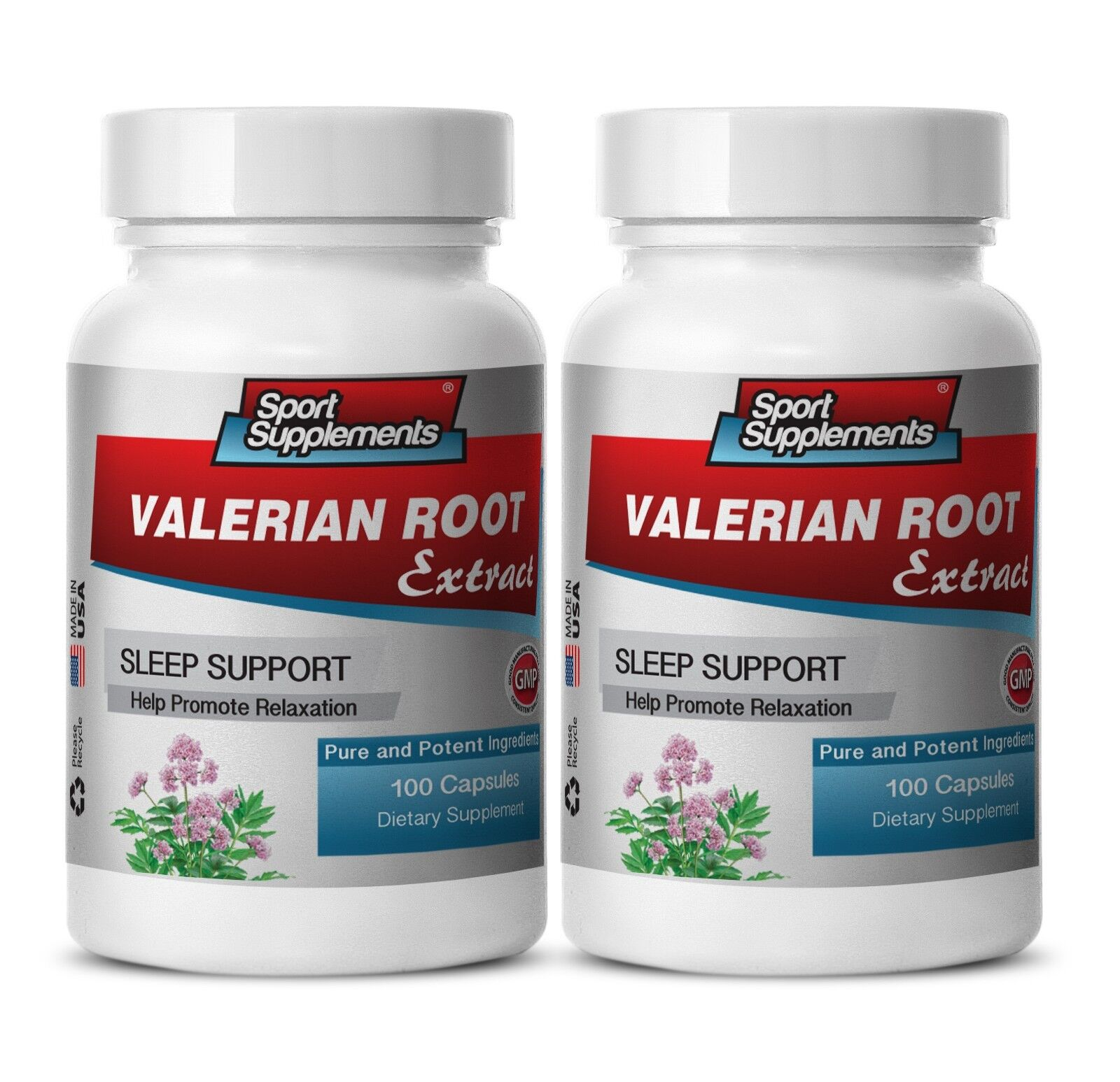 Valerian Supplements - Valerian Root Extract 4:1 125mg - Help Sleeplessness 2B 1