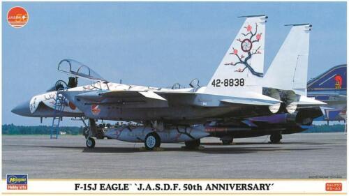 HASEGAWA 1//72 J.A.S.D.F F-15J Eagle 50th Anniversary Kit w// Tracking NEW