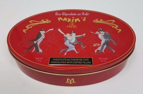 Maxim/'s De Paris Empty Metal Box