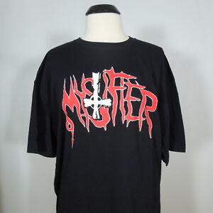 MYSTIFIER-Band-Logo-Our-Gloat-T-Shirt-Black-Men-039-s-size-2XL-NEW