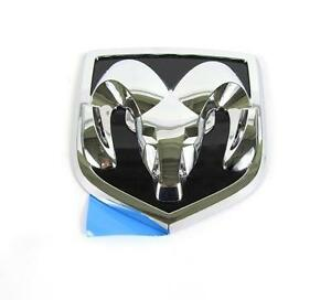 NEW OEM MOPAR TAILGATE OR RADIATOR GRILLE RAM/'S HEAD EMBLEM DODGE DURANGO DAKOTA