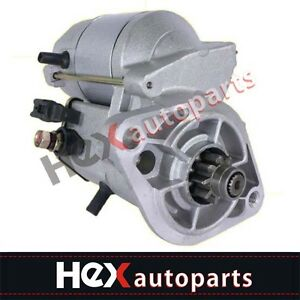 Image Is Loading New Starter For Chevy Prizm Toyota Corolla 1