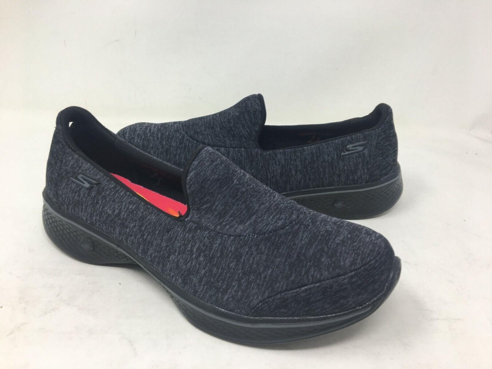 NEW  Skechers Women's SKECHERS GOWALK 4 ASTONISH Walking shoes Blk Grey m