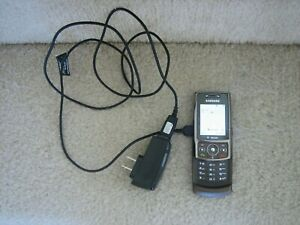 T-Mobile Samsung SGH-T819 Bronze Slider Cell Phone 3G w/PwrCord - NO SIM - WORKS