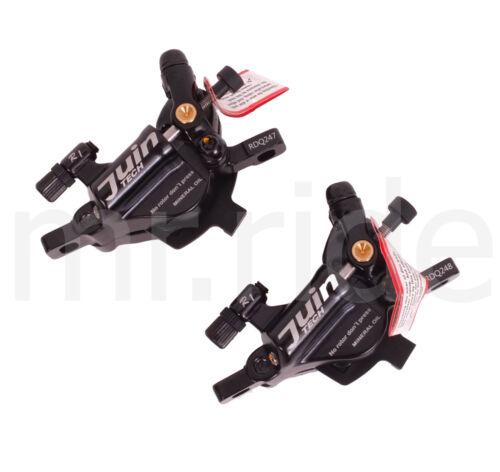 Juin Tech R1 Hydraulic Cable Disc Brake Set Dual Side Actuation Road//CX Bike
