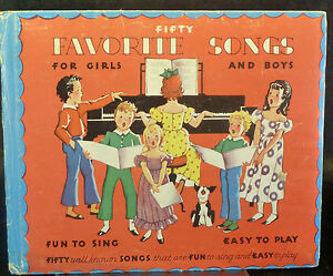 fifty favorite songs for girls and boys well known easy to play easy to sing ebay. Black Bedroom Furniture Sets. Home Design Ideas