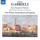 Andrea Gabrieli: Keyboard Music (CD, Aug-2010, Naxos (Distributor))