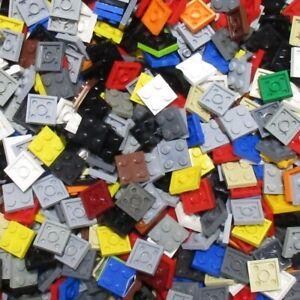 Used-LEGO-500g-Packs-Plates-3022-Platte-2-x-2