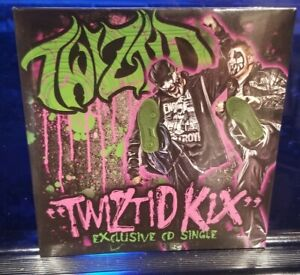 Twiztid - Kix CD SEALED rare single insane clown posse blaze ya dead homie mne